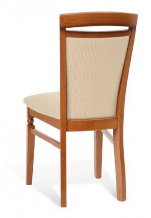 BRW Jedálenská stolička Natalia DKRSII Prevedenie dreva Trax: Višňa primavera, Látka: 1094