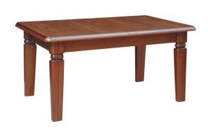 BRW Jedálenský stôl Bawaria MAX Prevedenie dreva Trax: Orech taliansky, Vlastnosti tovaru: Dosky dyhované