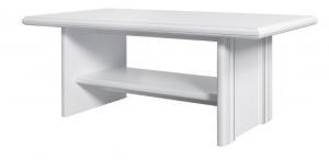 BRW Konferenčný stolík Idento LAW Farba: biely