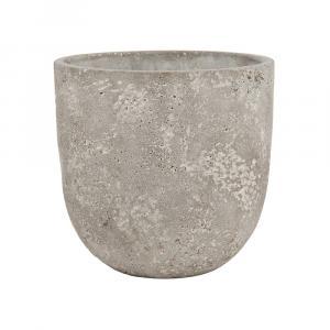 Butlers FLORAL BASIC Kvetináč z betónu okrúhly 15 cm