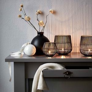Butlers YOKO Svietnik na čajovú sviečku 13 cm