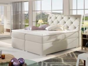 Čalouněná postel BALVIN Boxsprings 140 x 200 cm Provedení: Soft 33