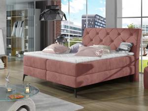 Čalouněná postel LAOS Boxsprings 160 x 200 cm Provedení: Kronos 29