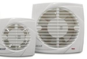 Cata ventilátor B-10 PLUS Standard, Biely, Axiálny, 00281000