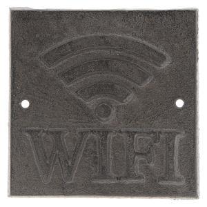Ceduľka WiFi - 8*8*0.5 cm