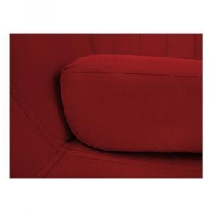 Červené zamatové kreslo Mazzini Sofas Sardaigne