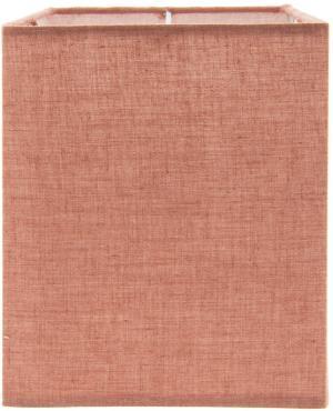 Červené textilné tienidlo - 14 * 14 * 18 cm