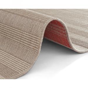 Červeno-krémový vonkajší koberec Bougari Paros, 160 x 230 cm