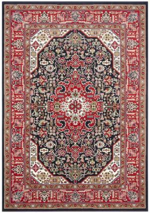 Červeno-modrý koberec Nouristan Skazar Isfahan, 80 x 150 cm