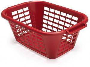 Červený kôš na bielizeň Addis Rect Laundry Basket, 40 l