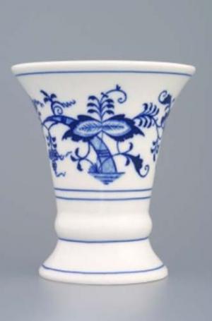 Český porcelán, a.s., Dubí Váza 12 cm, cibulák, Český porcelán