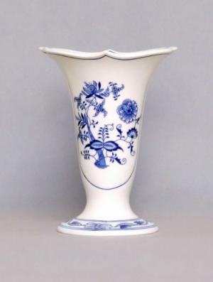 Český porcelán, a.s., Dubí Váza Dux  20 cm, cibulák, Český porcelán