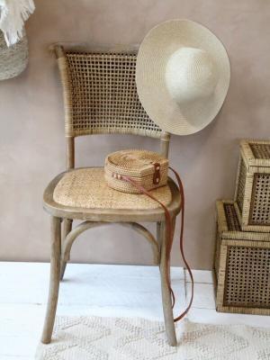 Chic Antique Bambusová truhla French Wicker S