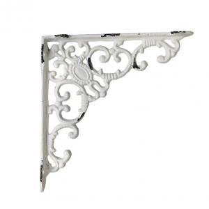 Chic Antique Kovová konzola Antique White 20,5 cm