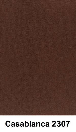 CHROB Buková posteľ Kalmar High čalúnenie a úložný priestor - prírodná Plocha na spanie:: 120 x 200 cm, Farba čela:: Casablanca 2314