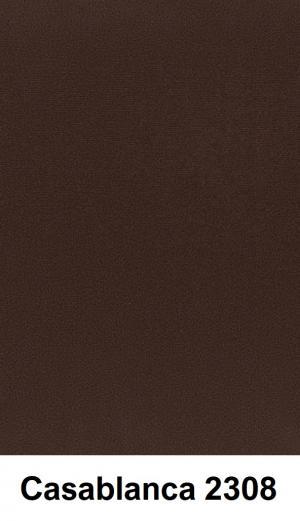 CHROB Posteľ z masívu s čalúneným čelom Gotland High borovica - prírodná Plocha na spanie:: 180 x 200 cm, Farba čela:: Casablanca 2302
