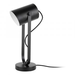 Čierna stolová lampa Leitmotiv Snazzy