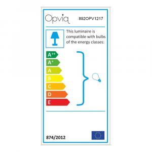 Čierne kovové nástenné svietidlo s tmavohnedým tienidlom Opviq lights Julia