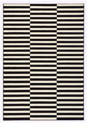 Čierno-krémový koberec Hanse Home Gloria Panel, 160×230cm