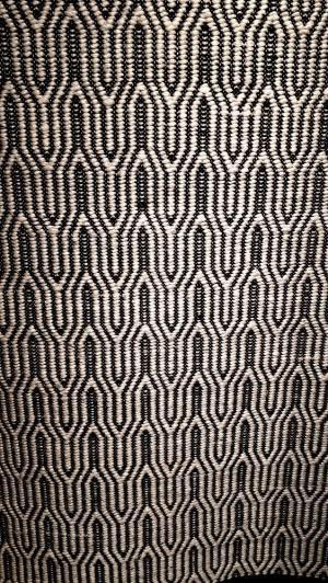 Čiernobiely koberec Monica Ivory - 160 * 230 cm