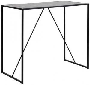 Čierny barový stolík Actona Seaford