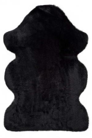 Čierny koberec Universal Fox Liso, 60 x 90 cm