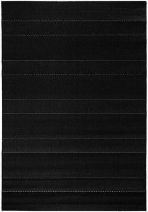 Čierny koberec vhodný aj do exteriéru Hanse Home Sunshine, 80 × 150 cm