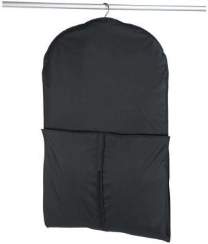 Čierny obal na oblek Wenko, 150×60cm
