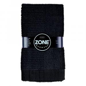 Čierny uterák Zone Classic, 50 × 70 cm