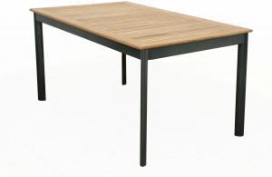Concept - stôl s teakovou doskou 150x90x75cm