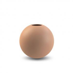 COOEE Design Guľatá váza Ball Cafe Au Lait 10 cm