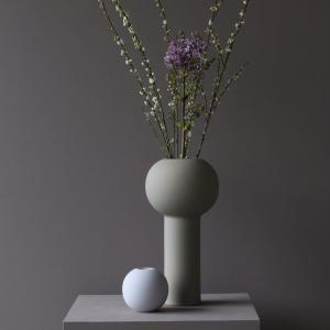 COOEE Design Guľatá váza Ball Lilac 10 cm