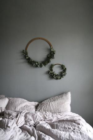 COOEE Design Mosadzný kruh na dekorovanie Brass 20 cm
