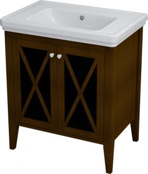 Cross CR075 umývadlová skrinka 70x81x47 cm, mahagón