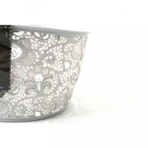 CURVER košík VICTORIA, 29 x 16 x 21 cm, šedá, 02205-099