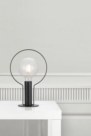 DEAN HALO   dizajnová stolná lampa Farba: Čierna