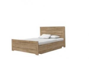 Decodom posteľ TIROL 160 Dub riviera rustic mountain