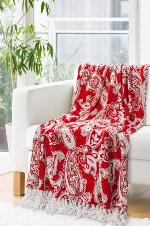 Deka 150x200cm - Eurofirany - Janet (červená). Akcia -10%. Sme autorizovaný predajca Eurofirany.