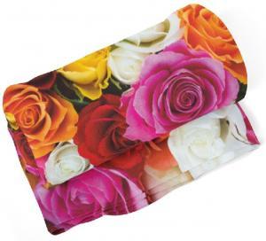 Deka Farebné ruže (Rozmer: 200 x 140 cm)