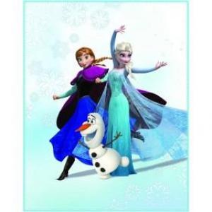Deka fleece 110x140 Frozen Enjoy