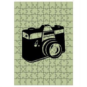 Deka Puzzle efekt 360g/m² 120x150 cm
