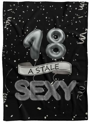 Deka Stále sexy – Čierna (vek: 18)