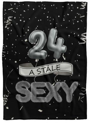 Deka Stále sexy – Čierna (vek: 24)