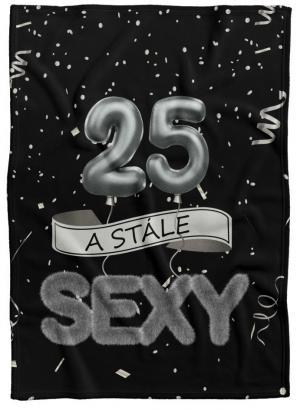 Deka Stále sexy – Čierna (vek: 25)