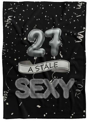 Deka Stále sexy – Čierna (vek: 27)