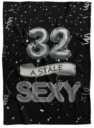 Deka Stále sexy – Čierna (vek: 32)