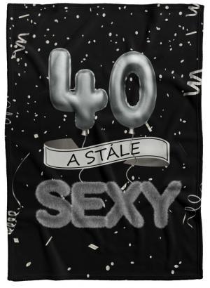 Deka Stále sexy – Čierna (vek: 40)