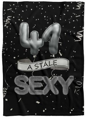 Deka Stále sexy – Čierna (vek: 41)