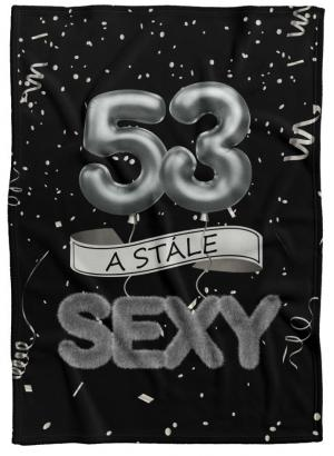 Deka Stále sexy – Čierna (vek: 53)