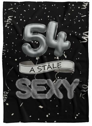 Deka Stále sexy – Čierna (vek: 54)